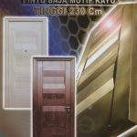 JBS-PRIME-1 - Pintu Rumah Minimalis 2 Pintu Besar Kecil