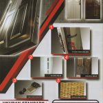 JBS-URBAN-2 - Pintu Besi Pengaman Rumah