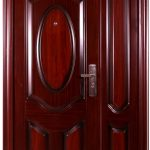 PINTU BAJA JBS TYPE 120.10 - Pintu Rumah Minimalis 2 Pintu Besar Kecil