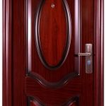 Pintu Rumah Minimalis - Pintu Besi Minimalis Double
