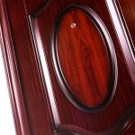Pintu Rumah Minimalis - Pintu Besi Minimalis Buka Dua