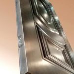 Pintu Rumah Minimalis - Pintu Garasi Besi Tempa
