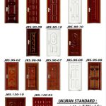 Pintu Baja - JBS DOOR - Pintu Rumah Minimalis 2 Pintu Besar Kecil