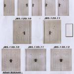 Pintu Rumah Minimalis - Putih - Pintu Besi Folding Gate